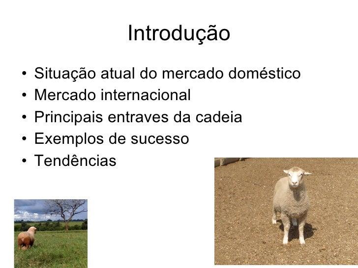 Situação atual e tendências para o mercado de ovinos e caprinos Slide 2