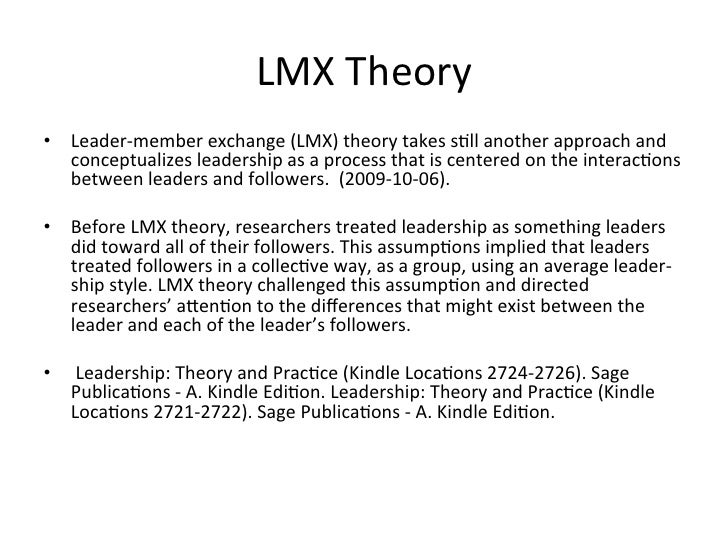 leader-member exchange theory strengths and weaknesses
