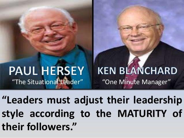 ken blanchard situational leadership pdf