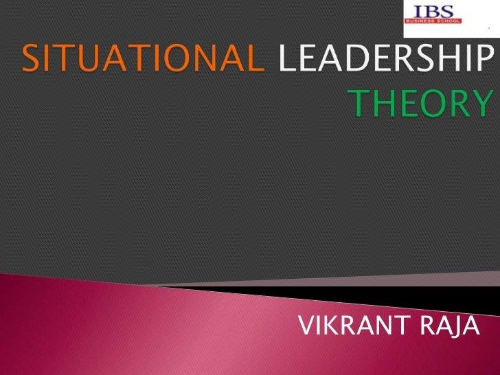 Situational leadership theory... Slide 2
