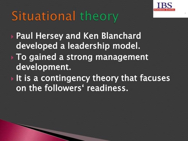 Situational leadership theory... Slide 3