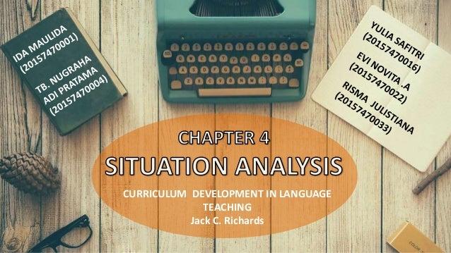 CURRICULUM DEVELOPMENT IN LANGUAGE TEACHING Jack C. Richards