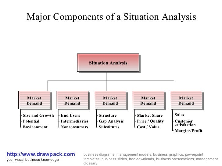 Situation Analysis Business Diagram