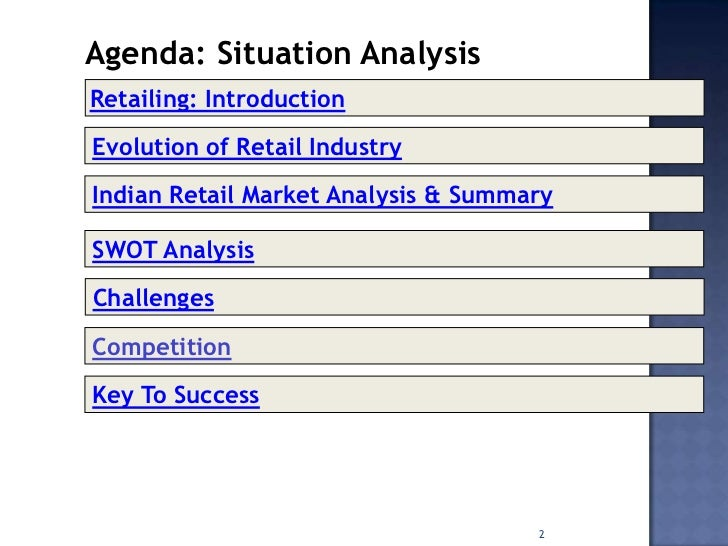 an analysis of the retail industry in the indian market Retail market research reports: the global retail industry analysis encompasses all direct sale to end consumers indian retail industry 2018-2022 view.