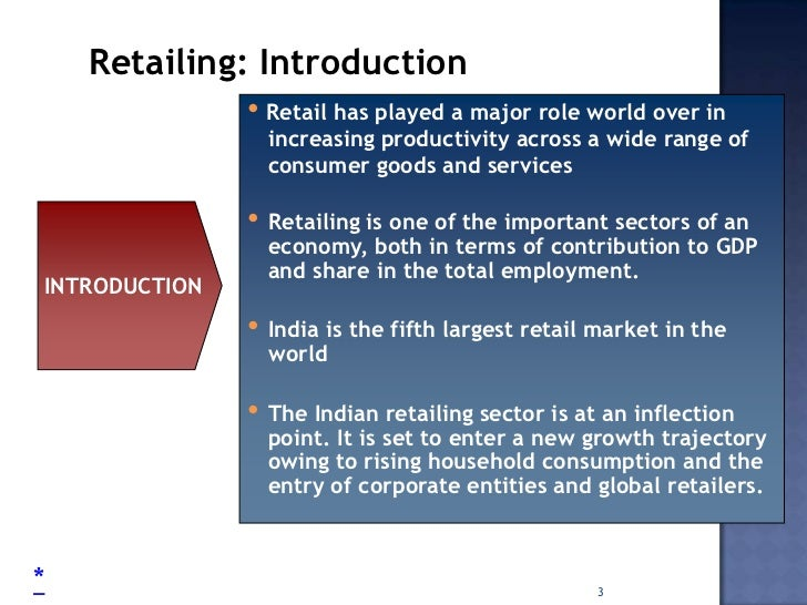 an analysis of the retail industry in the indian market Swot analysis of the indian organized retail industry:  organized retail is only 3% of the total retailing market in india it is estimated to grow at the rate .