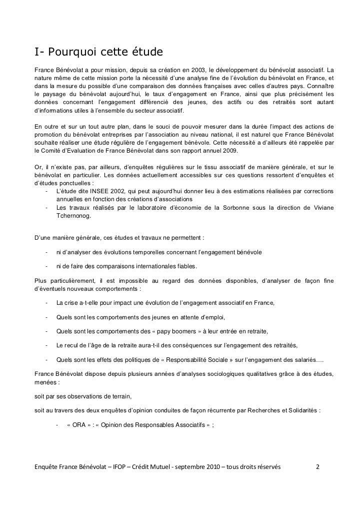 Situation du benevolat en france 2010 Slide 2