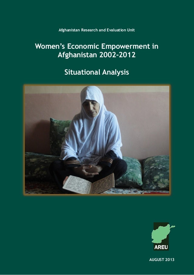 Afghanistan Research and Evaluation Unit Case Study SeriesAfghanistan Research and Evaluation Unit Women's Economic Empowe...