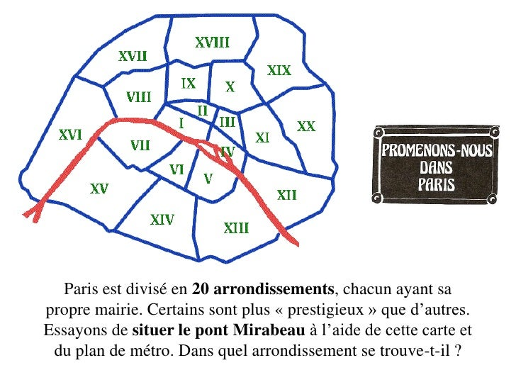 Paris est divisé en 20 arrondissements, chacun ayant sa propre mairie. Certains sont plus « prestigieux » que d'autres. Es...