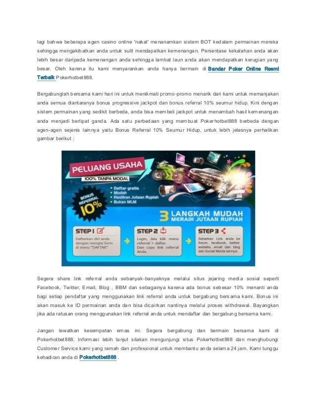 Situs Poker Depo 10000