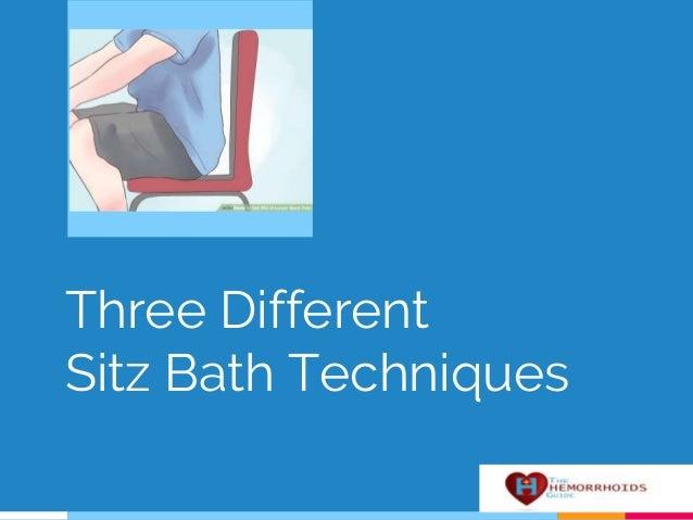how to clean a sitz bath