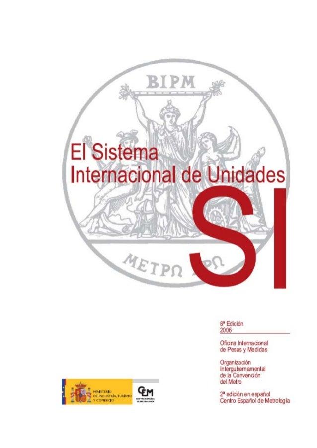 sistema internacional de unidades siu