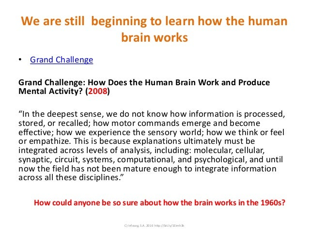 Grand Challenge How Does The Human Brain Work And Produce >> Strange Ideas Usually Associated With Mind Mapping