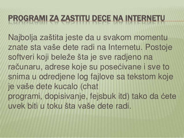 Daniel Kalić - Bezbednost dece na internetu