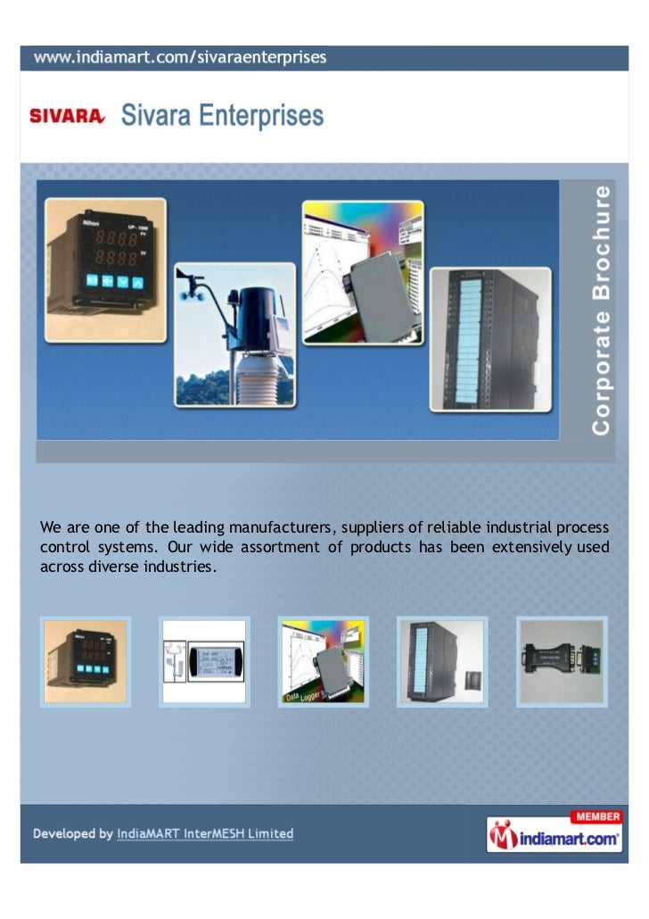 We are one of the leading manufacturers, suppliers of reliable industrial processcontrol systems. Our wide assortment of p...