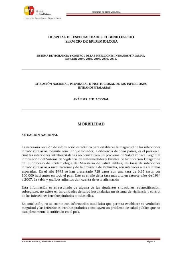SERVICIODEEPIDEMIOLOGÍA HOSPITALDEESPECIAL...