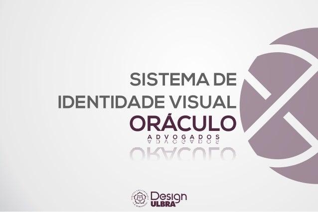 Manual de Identidade Visual - Oráculo Advogados