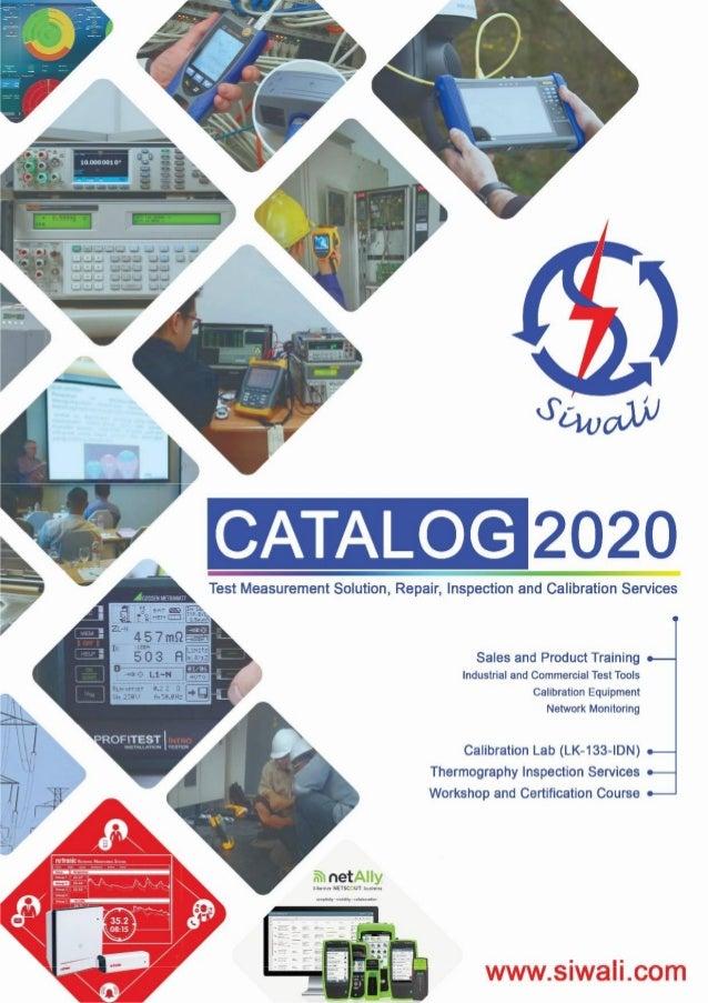 www.siwali.com ~netAllyAIOrrnef NETSCWT. b-oIslne.u Calibration Lab (LK-133-IDN) Thermography Inspection Services Workshop...
