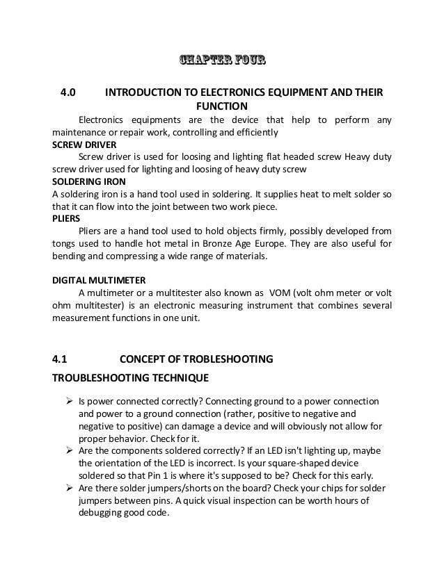 Siwes Industrial Training Report Essay Sample