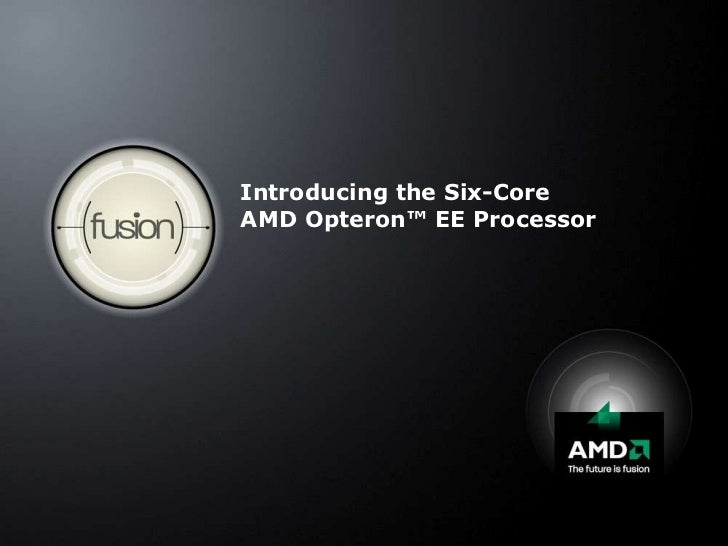 Introducing the Six-CoreAMD Opteron™ EE Processor<br />