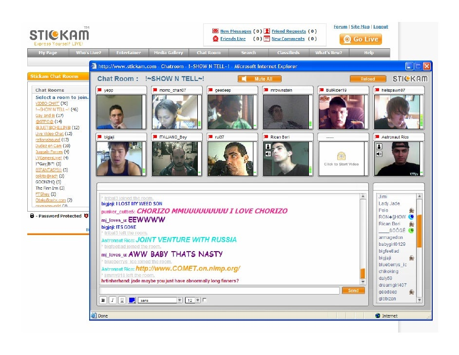 gay cam chat room