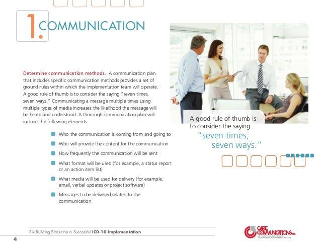 Icd-10 communication plan youtube.