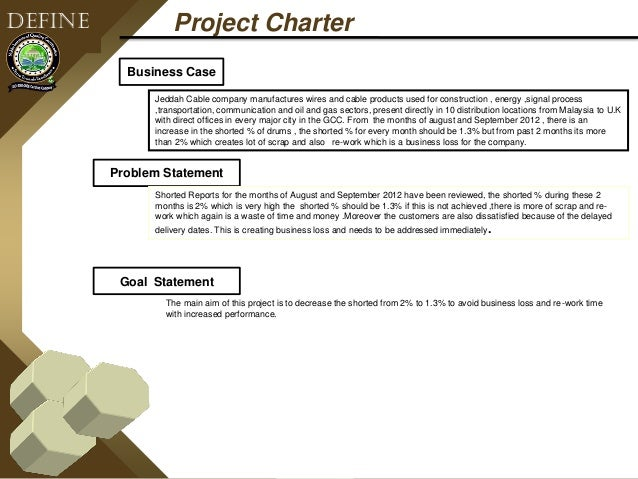 Six sigma black belt project sample for Six sigma black belt project template
