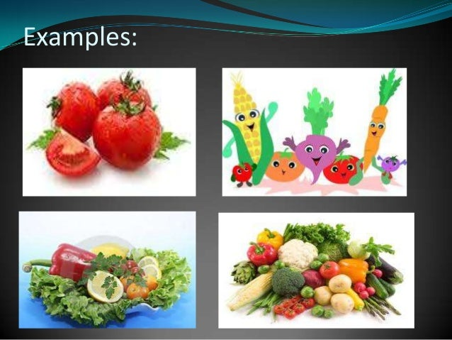 Six basic food groups