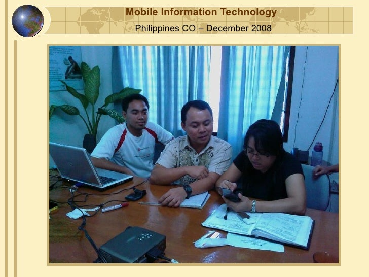 Mobile Information Technology  Philippines CO – December 2008