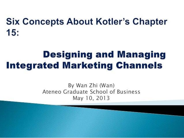 By Wan Zhi (Wan)Ateneo Graduate School of BusinessMay 10, 2013