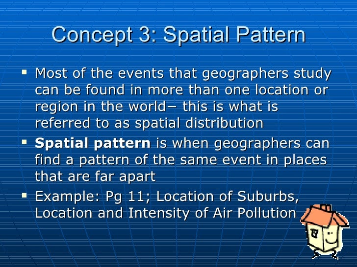 Six Concepts Of Geography Magnificent Pattern Definition Geography