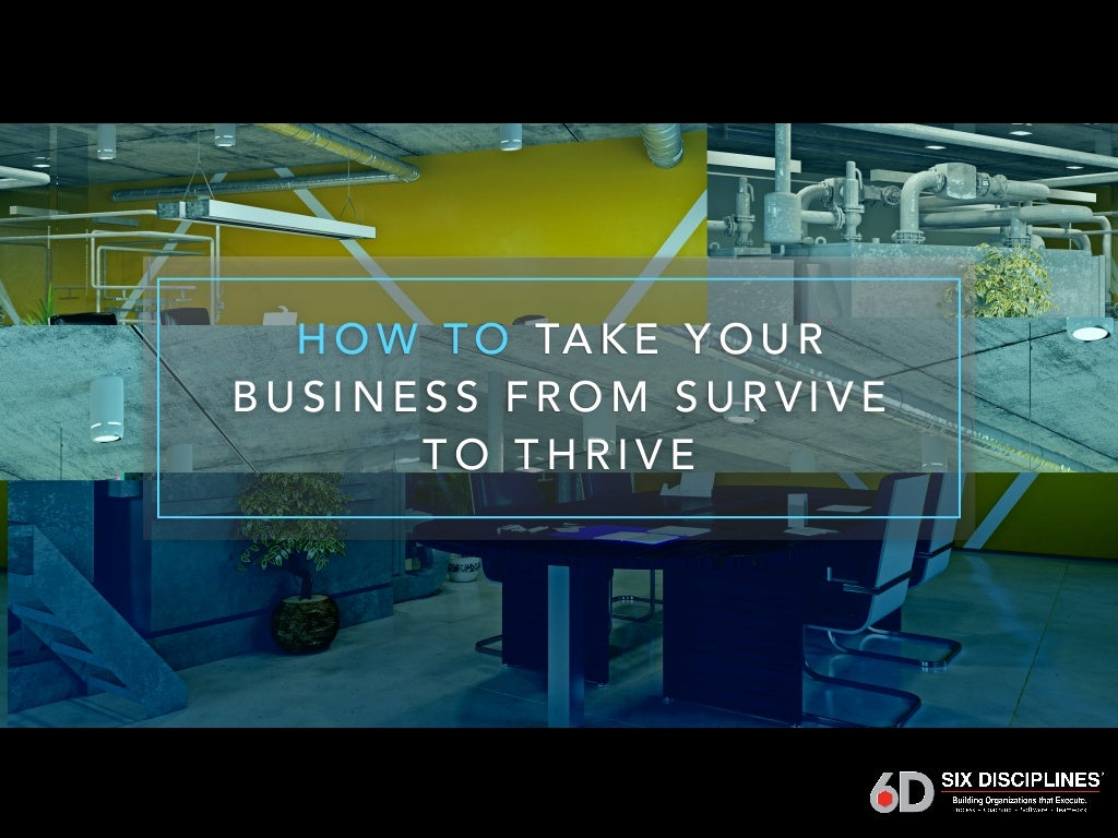 How Your Business Can Survive The COVID-19 Crisis (And