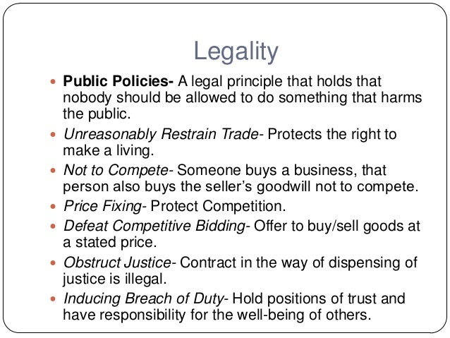 six elements to a contract A contract is an agreement, voluntarily entered into by 2 or more parties for the purpose of creating obligations on both parties contracts play a part in many areas of life, from multi-million dollar business deals to the purchasing of goods from the local shopping centre the elements of a contract generally.