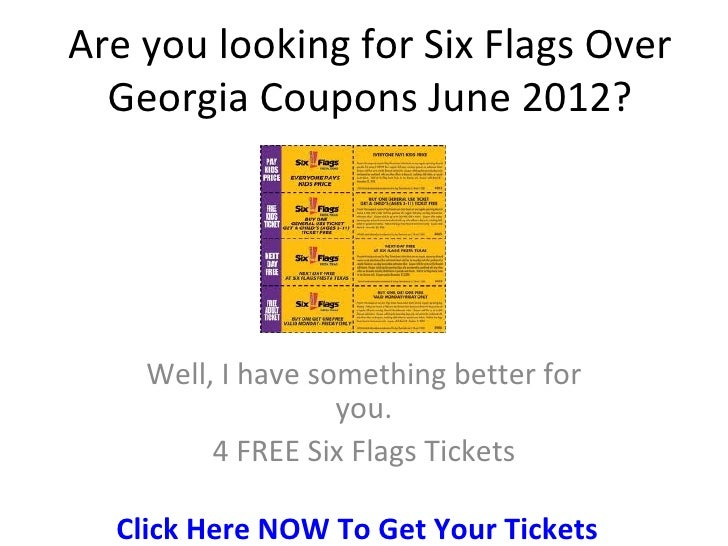 Six flags coupon code