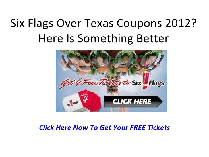 Six flags coupon codes