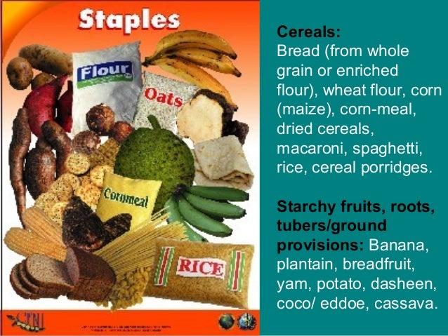 Six food groups