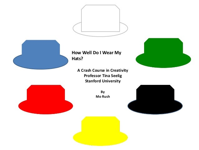 How Well Do I Wear MyHats?  A Crash Course in Creativity     Professor Tina Seelig      Stanford University              B...