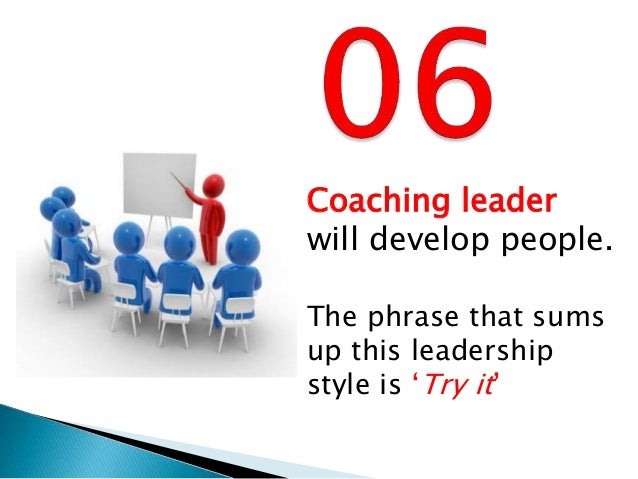 the coercive style Having the self awareness and flexibility to adapt your leadership style to the   the coercive leader tightly controls situations and emphasises negative rather .