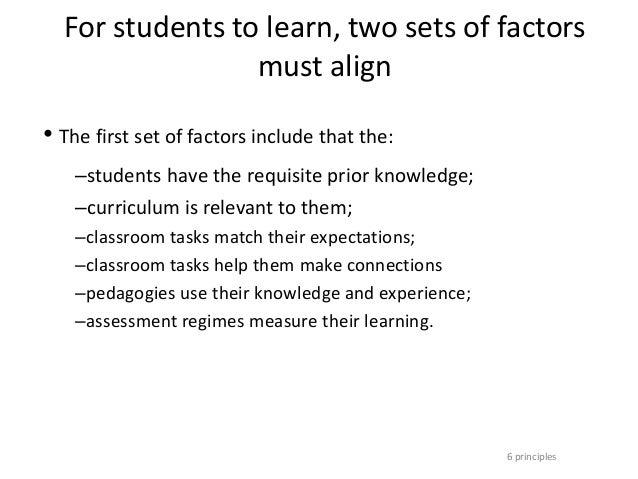 principles of effective teaching pdf
