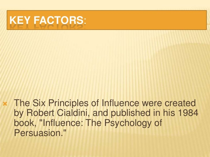 "what are the principle factors influence The basics: which factors affect motivation  leboeuf says in his book, the  greatest management principle in the world, ""what gets rewarded gets done."