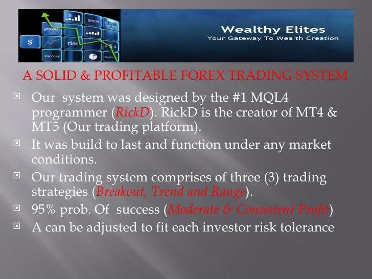 Notice To Prospective Investors