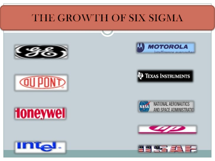 Six sigma at general electric
