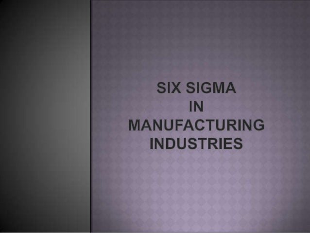    Six sigma methodology provides the techniques and tools to    improve the capability and reduces defects in any proces...