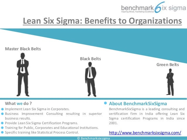 six sigma - benefits to organizations