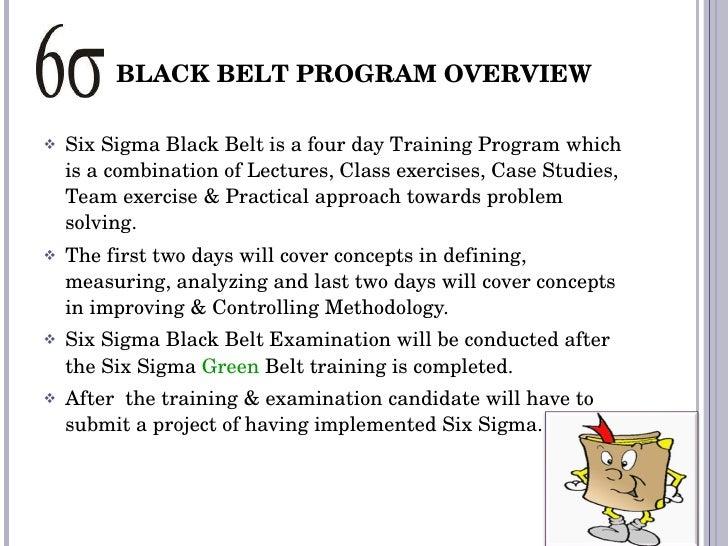 Certified Lean Six Sigma Black Belt Certification Training ...