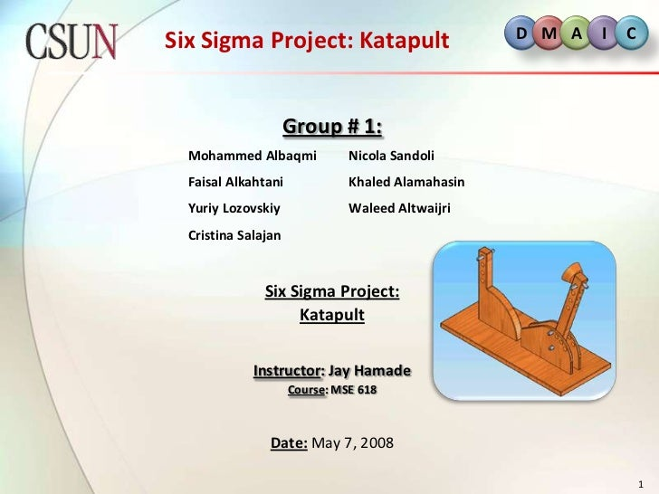 six sigma green belt project case studies