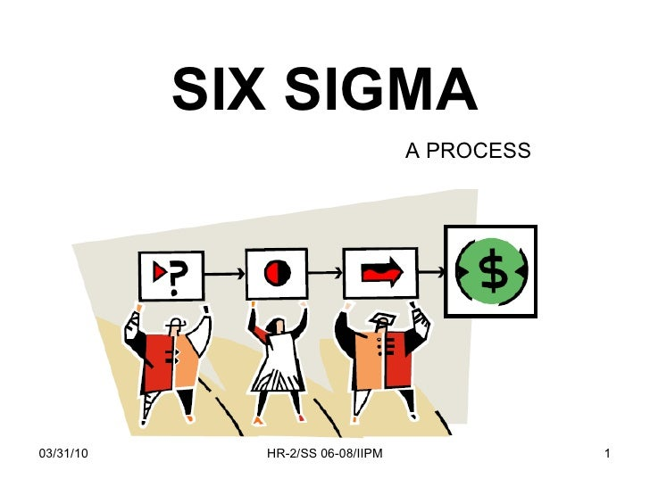 SIX SIGMA A PROCESS