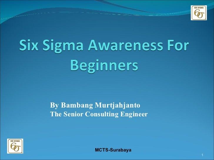 By Bambang Murtjahjanto The Senior Consulting Engineer