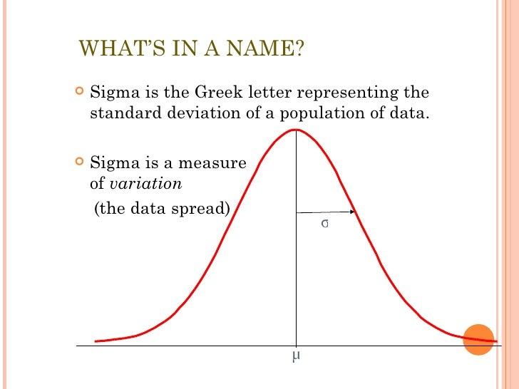 Greek Letter Representing The Mean Of A Population