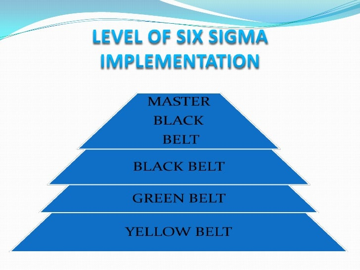 CONTINUE…1.   Six Sigma Champion: Champions undergo five days of training and     are taught how to manage projects and ac...