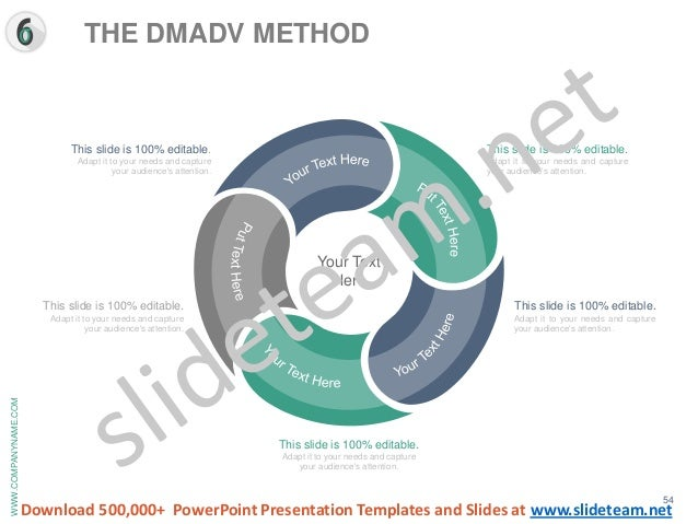 Six sigma process analysis and approach presentation templates for Ucl powerpoint template